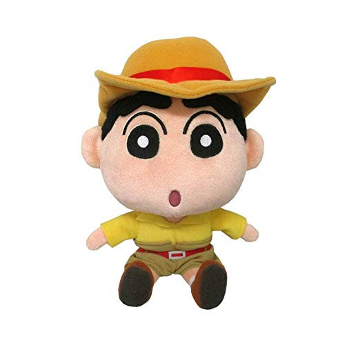 San-ei Crayon Shin-chan Plush Doll Transform Shinchan Treasure Hunter (S) TJN