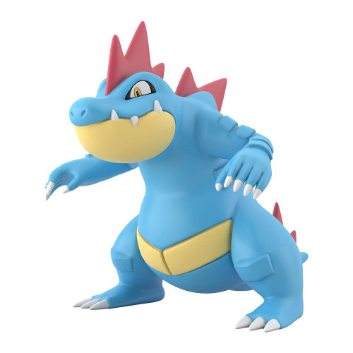 Bandai Candy Pokemon Scale World Johto Region Feraligatr 1/20 Scale Figure
