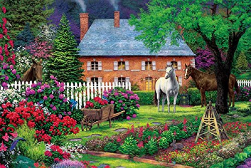 APPLEONE Jigsaw Puzzle 1000-791 Country Garden (1000 Pieces)