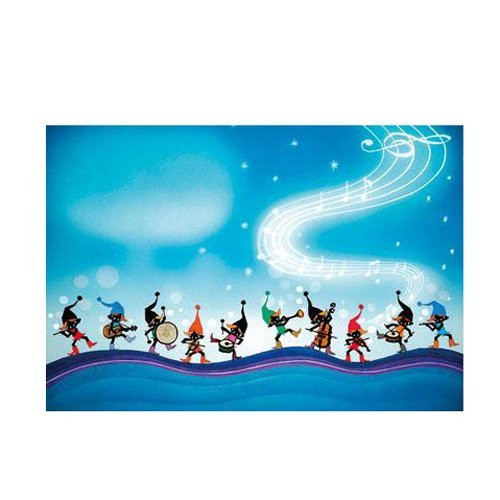 APPLEONE Jigsaw Puzzle 300-239 elf's music band (300 Pieces)