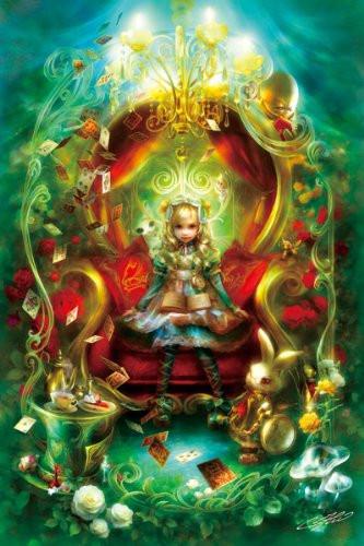 APPLEONE Jigsaw Puzzle 300-292 Alice Vignette (300 Pieces)