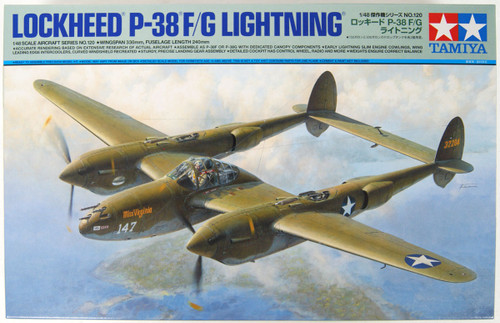 Tamiya 61120 Lockheed P-38F/G Lighting 1/48 scale kit
