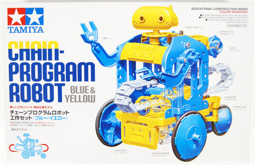 Tamiya 69931 Chain-Program Robot (Blue/Yellow)