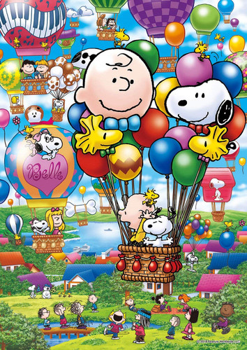 Epoch Jigsaw Puzzle 03-043 Snoopy Balloon Flight (108 Pieces)