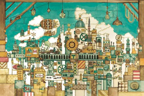Epoch Jigsaw Puzzle 11-594  Noriko Nishimura Mouse Kingdom in Attic (1000 Pieces)