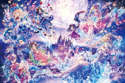Epoch Jigsaw Puzzle 12-047 Glow in the Dark Kayo Horaguchi Princess Story (1000 Pieces)
