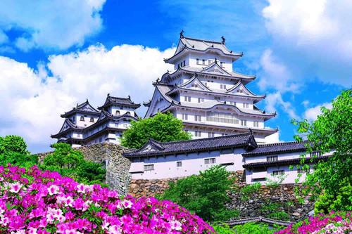 Epoch Jigsaw Puzzle 23-593 White Himeji Castle in Hyogo (2016 S-Pieces)