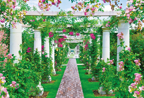 Epoch Jigsaw Puzzle 25-185 Beautiful English Rose Garden (300 Pieces)