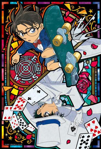Epoch Jigsaw Puzzle 26-318S Detective Conan Conan VS Kid II (300 Pieces)