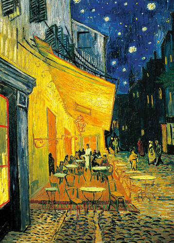 Epoch Jigsaw Puzzle 54-006 Vincent van Gogh Cafe Terrace at Night (2000 S-Pieces)