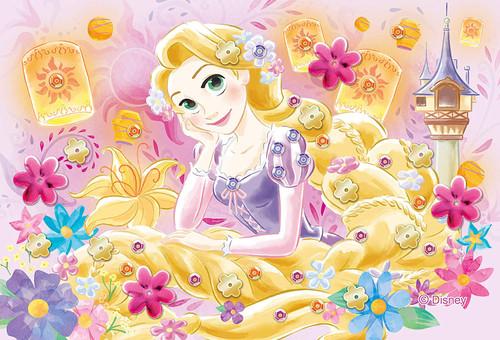 Epoch Jigsaw Puzzle Decoration 70-025 Disney Tangled Rapunzel (70 Pieces)