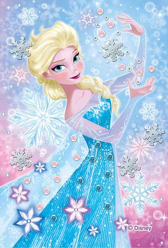 Epoch Jigsaw Puzzle Decoration 70-026 Disney Frozen Elsa (70 Pieces)