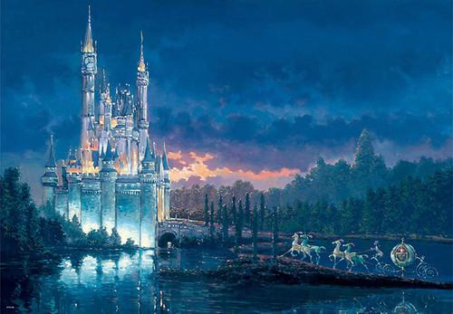 Tenyo Japan Jigsaw Puzzle D1000-438 Disney Cinderella Moment Away (1000 Pieces)