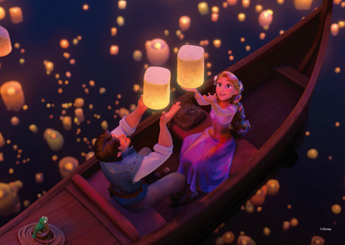 Tenyo Japan Jigsaw Puzzle D108-800 Disney Tangled I See the Light (108 Pieces)
