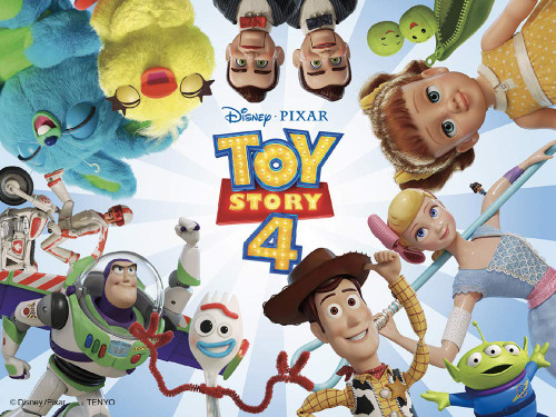 Tenyo Japan Jigsaw Puzzle DD48-571 Toy Story (Double Sides) (48 Pieces)