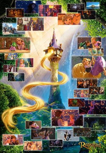 Tenyo Japan Jigsaw Puzzle DG2000-616 Disney Tangled Rapunzel (2000 Pieces)