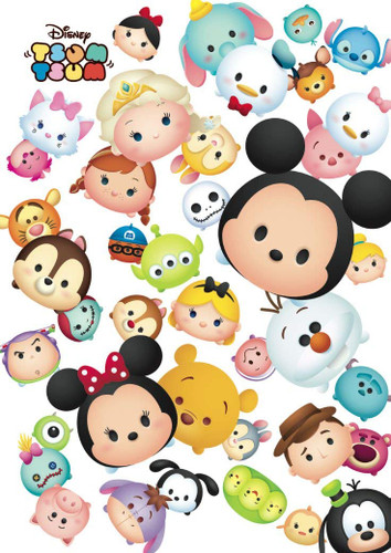 Tenyo Japan Pure White Jigsaw Puzzle DPG266-567 Disney TSUM TSUM (266 Pieces)