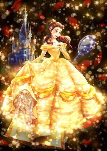 Tenyo Japan Jigsaw Puzzle DSG266-962 Disney Beauty and the Beast (266 Pieces)