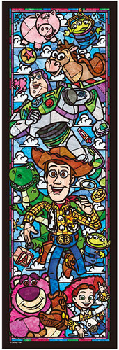 Tenyo Japan Jigsaw Puzzle DSG456-719 Disney Toy Story Stained Glass (456 Pieces)