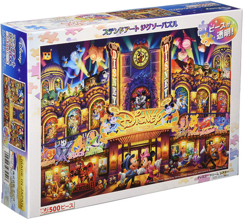 Tenyo Japan Jigsaw Puzzle DSG500-451 Disney Dream Theater (500 Pieces)