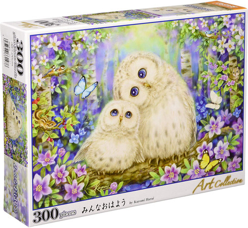 Beverly Jigsaw Puzzle 33-147 Good Morning Everyone  Kayomi Harai (300 Pieces)