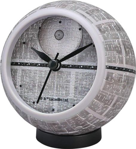 Yanoman 2401-02 Puzzle Clock Star Wars Death Star (145 Pieces)