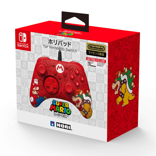 Hori Horipad Controller Pad for Nintendo Switch Super Mario Edition