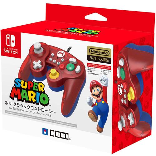 Hori Nintendo Switch Classic Controller GameCube Style Super Mario