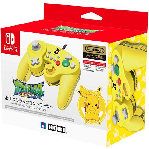 Hori Nintendo Switch Classic Controller GameCube Style Pikachu
