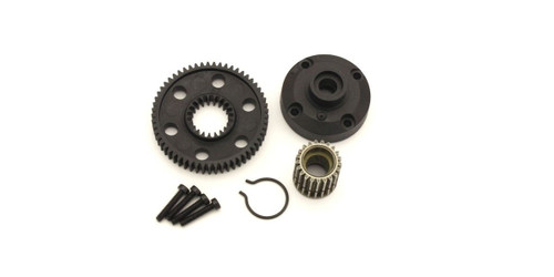 Kyosho UT008 Diff Gear Case & Pulley (ULTIMA)