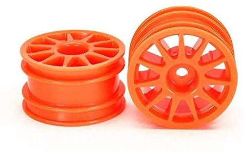 Tamiya 54913 (OP1913) T3-01 11-Spoke Wheel (Fluorescent Orange/2 pcs)