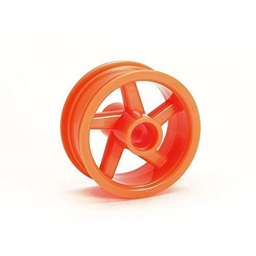 Tamiya 54914 (OP1914) T3-01 5-Spoke Front Wheel (Fluorescent Orange/1 pcs)