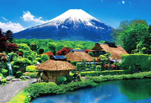 Beverly Jigsaw Puzzle 51-194 World Heritage Oshino Mount Fuji (1000 Pieces)