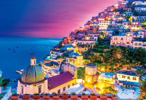 Beverly Jigsaw Puzzle M81-863 Evening Amalfi (1000 S-Pieces)