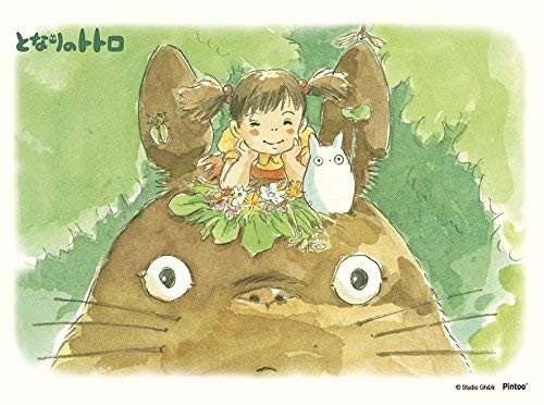 Ensky Jigsaw Puzzle MA-04 Studio Ghibli My Neighbor Totoro On Totoro's Head (150 S-Pieces)