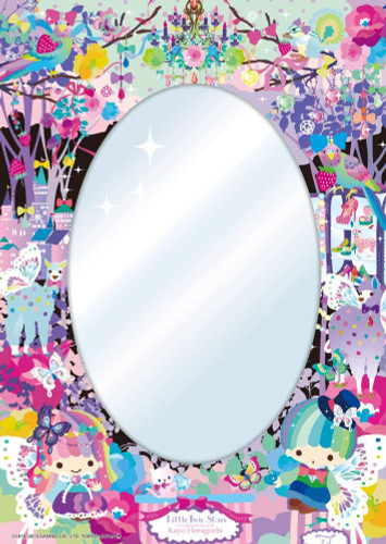 Beverly Jigsaw Puzzle BET-003 Mirror Puzzle Sanrio Little Twin Sisters Butterfly (65 Pieces)