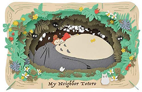 Ensky Jigsaw Puzzle PT-L10 Paper Theater Studio Ghibli My Neighbor Totoro Totoro's Cave
