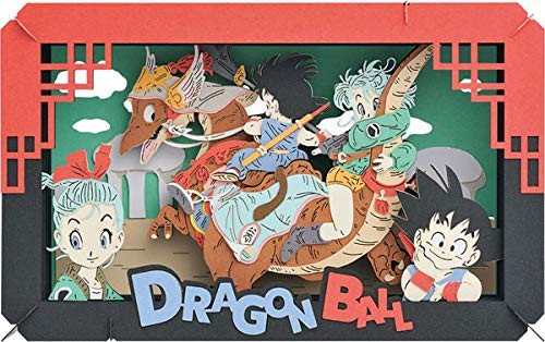 Ensky Paper Theater PT-L09 Dragon Ball Goku on an Adventure