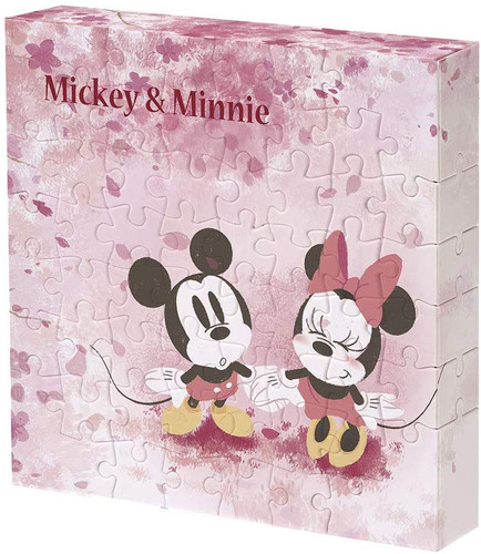 Yanoman Jigsaw Puzzle 2303-18 Disney Flower Shower (56 Pieces)