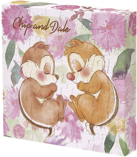 Yanoman Jigsaw Puzzle 2303-15 Disney Chip and Dale Sleep Time (56 Pieces)