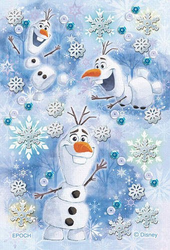 Epoch Jigsaw Puzzle Decoration 70-029 Disney Frozen Olaf Happy Moment (70 Pieces)