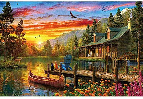 APPLEONE Jigsaw Puzzle 1000-845 Dominic Davison Perfect Day (1000 Pieces)