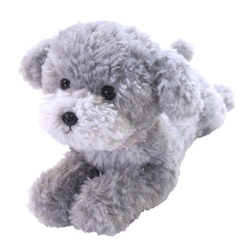 Sunlemon Hiza Wanko Plush Doll Toy Poodle (Gray) TJN