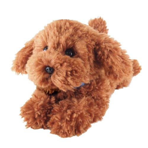 Sunlemon Hiza Wanko Plush Doll Toy Poodle (Brown) TJN