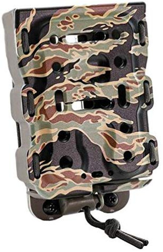 Laylax Battle Style Bite Mag Quick Mag Holder Tiger/RG for Airsoft Replica M4/M16 162342