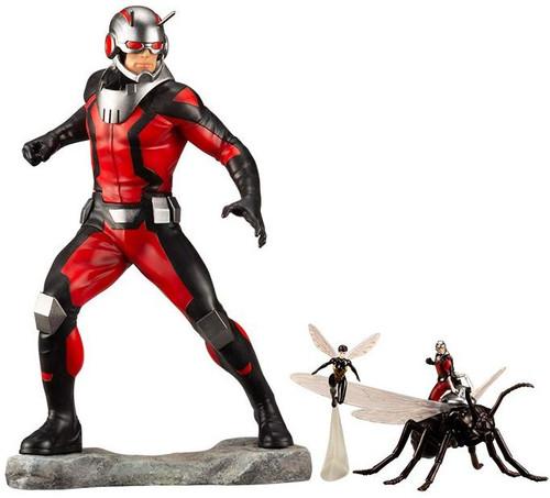 Kotobukiya MK246 ARTFX+ MARVEL UNIVERSE Astonishing Antman and Wasp 1/10 Scale Figure