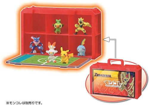 Takara Tomy Pokemon Moncolle Case Zamazenta Version