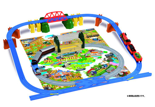 Tomy Pla-Rail Plarail Thomas The Tank Engine Thomas and Friends! Adventure in the Whole World Set(619383)
