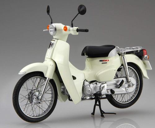 Fujimi NEXT 1EX-2 HONDA SUPER CUB 110 (CLASSICAL WHITE) 1/12 scale kit