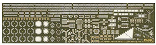 Fujimi TOKU No.58 EX-101 IJN Light Cruiser Isuzu Photo-Etched Parts 1/700 scale kit